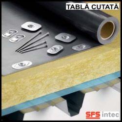 Fixare termo si hidroizolatie pe acoperis din tabla cutata – ISOFAST®