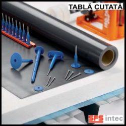 Fixare termo si hidroizolatie pe acoperis din tabla cutata – ISOTAK®