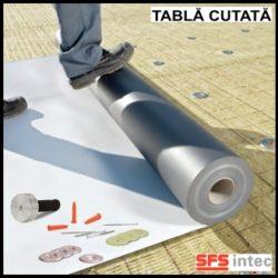 Fixare termo si hidroizolatie pe acoperis din tabla cutata – ISOWELD®