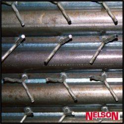 Ancore de sudura pentru fixarea betonului la cazane si boilere