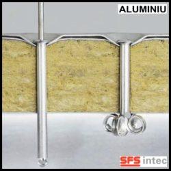 Fixare termo si hidroizolatie pe aluminiu si pe substraturi critice – ISOFAST®