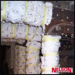 Conectori de sudura pentru fixarea izolatiei, a covoraselor din fibre si a placilor fibrolemnoase la cazane si boilere