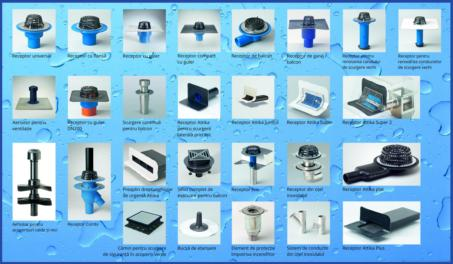 Receptoare pentru aerisire-ventilatie