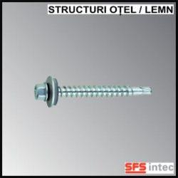 Suruburi autoperforante inoxidabile pentru structuri din otel