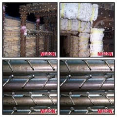Conectori de sudura pentru fixarea caramizii refractare la cazane si boilere